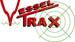 Vesseltrax Logo - White