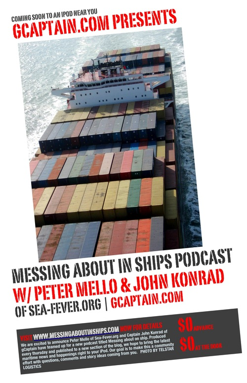 Messing About In Ships - Maritime Podcast Poster