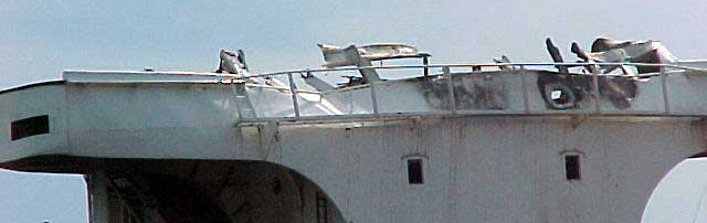 Damage to the Windoc's Bridge