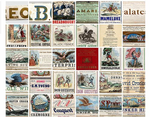 Historic Clipper Cards