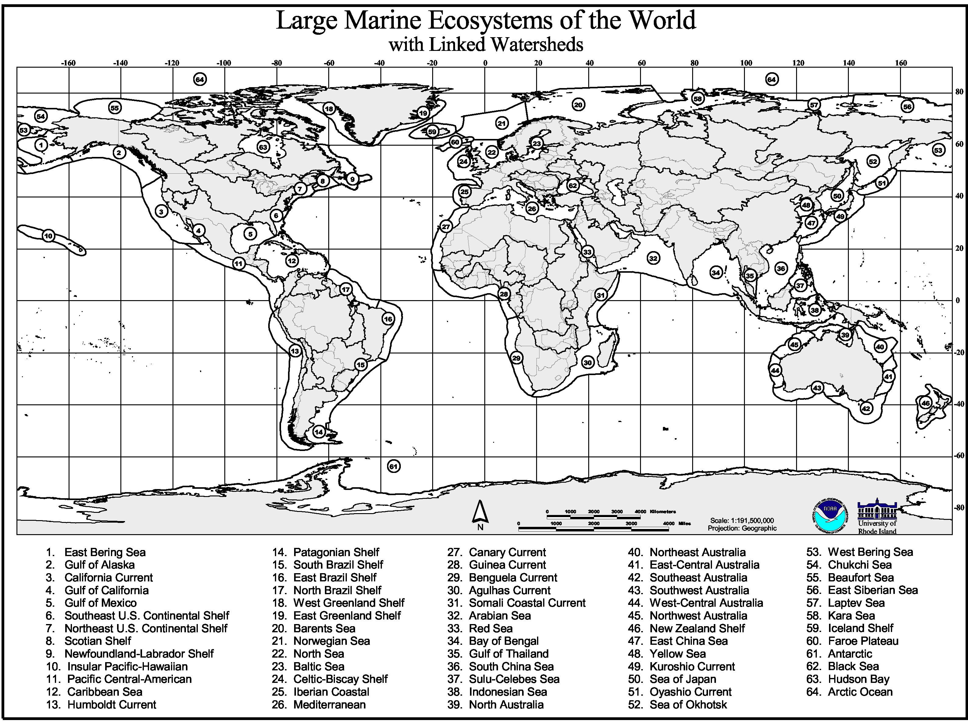 Marine Geography Quiz on Name All States Worksheets And The First Grade Geography
