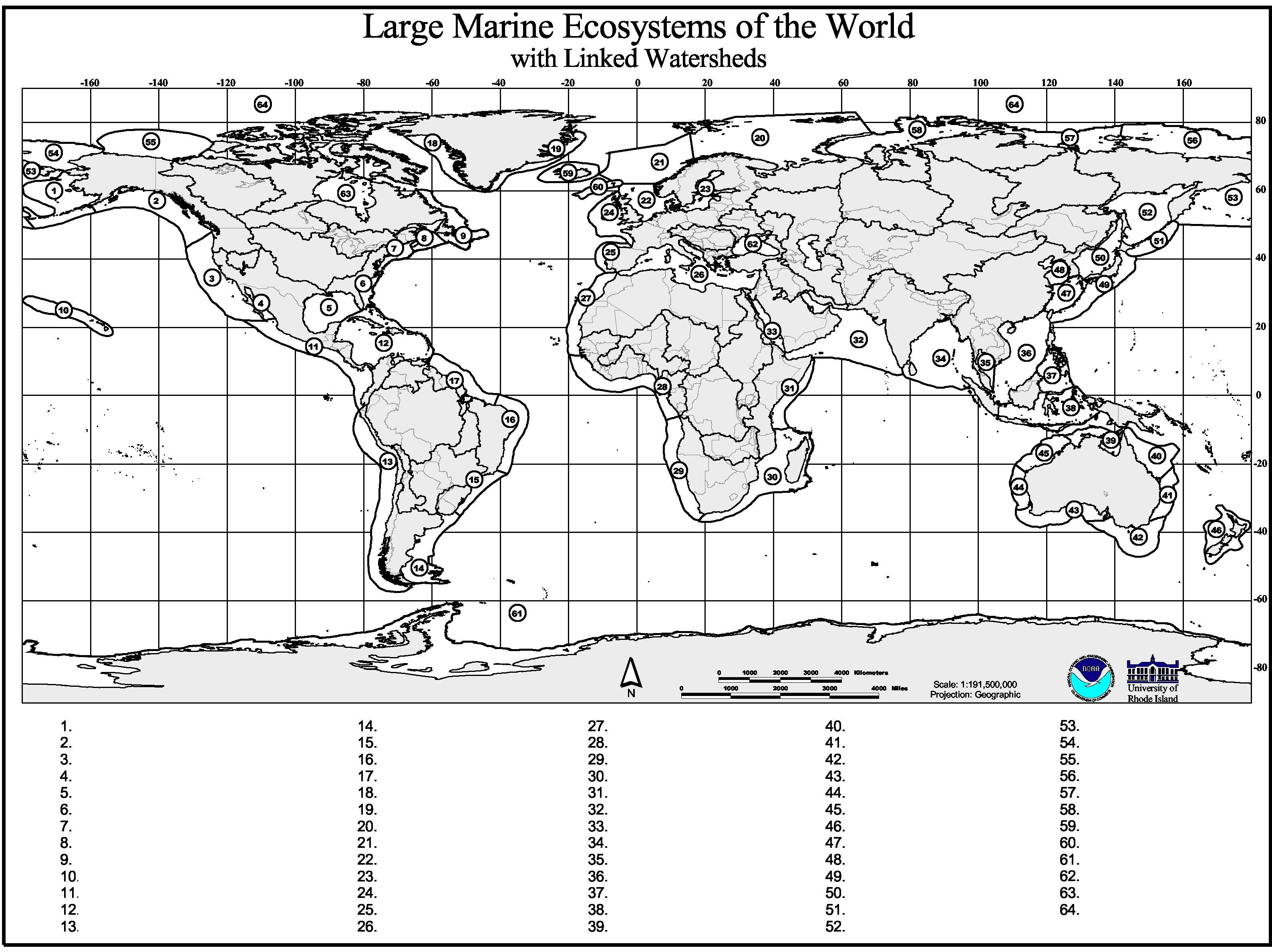 Marine Geography Quiz GCaptain - Geography map quiz