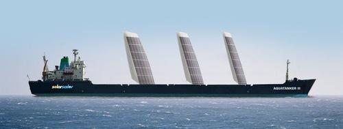 Skysails – Plus – Top 10 Green Ship Designs